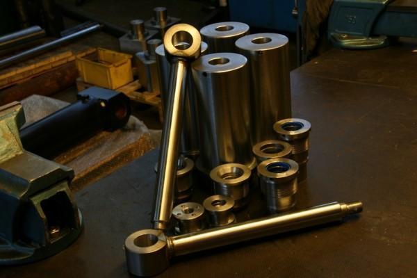 elementy siłowników hydraulicznych